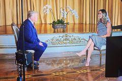 川普接受兒媳訪問 暗示2024再選總統