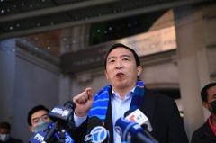 角逐紐約市長 楊安澤:沒敗選準備 我終將勝選