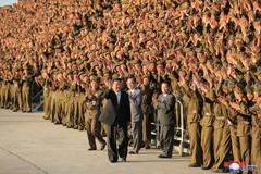 朝鮮半島局勢緊張 金正恩歸咎於美國
