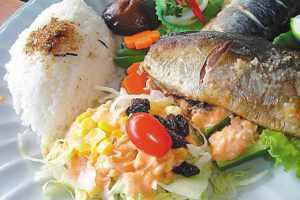 鯖魚(烤,180度,10分)