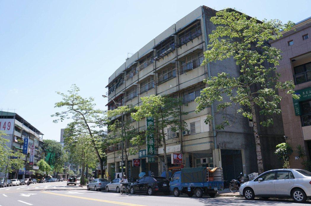 台北市合發社區都更案。 圖/經濟日報提供