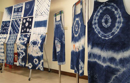 客家藍染工藝。 圖╱聯合報系資料照片