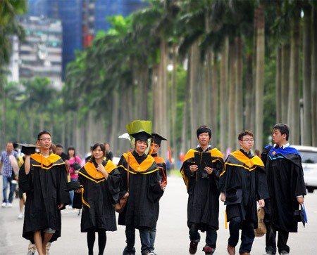 學生畢業後的下一步,該何去何從? 圖╱聯合報系資料照片