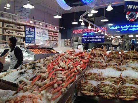 西雅圖派克市場是西雅圖最有活力的景點。圖/林怡潔提供