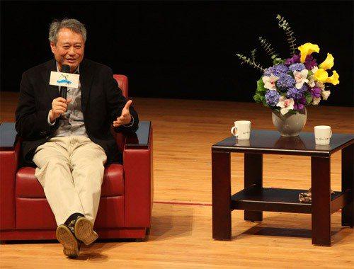 導演李安日前在一場對談中,提到對台灣社會的憂心。圖╱聯合報系資料照片
