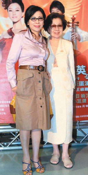 陳文茜(左)成功甩肉20公斤,照片為她5月出席宋祖英台北小巨蛋演唱會時拍攝。報系...