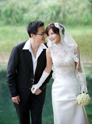 邱琦雯與柯韋任的婚紗照曝光。照片/蘇菲亞提供