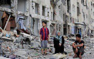 無辜平民:以巴戰爭最大受難者