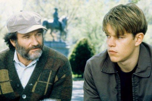 羅賓威廉斯電影《心靈捕手》劇照/擷自IMDb網站