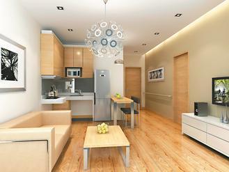 新北市永和秀朗派出所青年住宅獲「居住空間通用化標章」候選證書。 圖/城鄉局提供