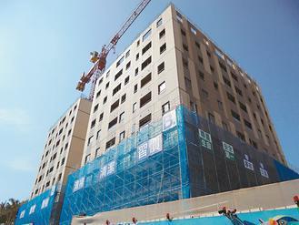 安康平宅改建興隆公營宅,其中第一期D區最快明年入住。 圖/發展局提供