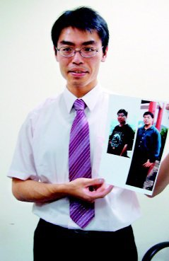 台中縣童綜合醫院主治醫師郭建宏。(記者陳秋雲/攝影)