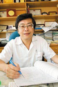 知名精神科醫師江漢光。(記者曾學仁/攝影)