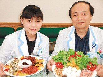 奇美醫院營養科指導民眾聰明吃湯圓,可多搭配蔬果及養生食材。(圖/奇美醫院提供)