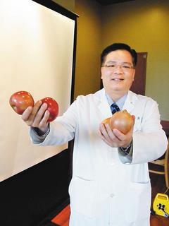 雙和醫院泌尿科主任陳冠州,與弘光科技大學生物科技研究所共同研究發現,常見於一般蔬...