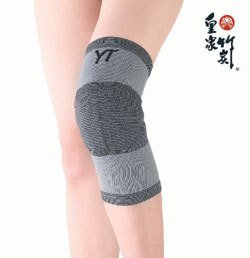 竹炭彈性護膝帶。