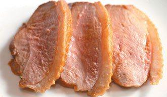 美味鴨肉。