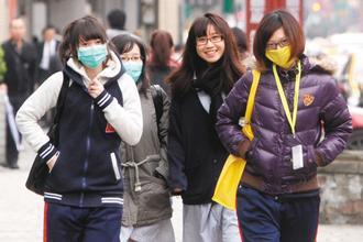 強烈大陸冷氣團來襲,全台氣溫驟降,這一兩周類流感門診人數驟增,出入公共場合留意被...