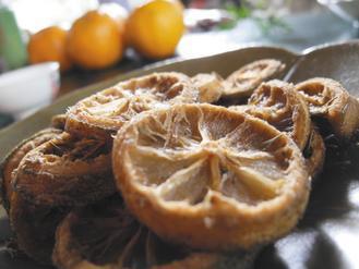 乾香水檸檬,有陽光味道。
