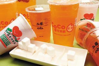 《康健雜誌》調查,號稱「微糖」的飲料,含糖量並不低。 記者徐世經/攝影