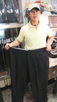 今年四十二歲的王金對,成功甩肉近九十公斤。 圖/王金對提供