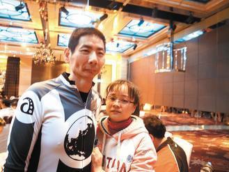 莊啟仁(圖左)。記者陳俐君/攝影