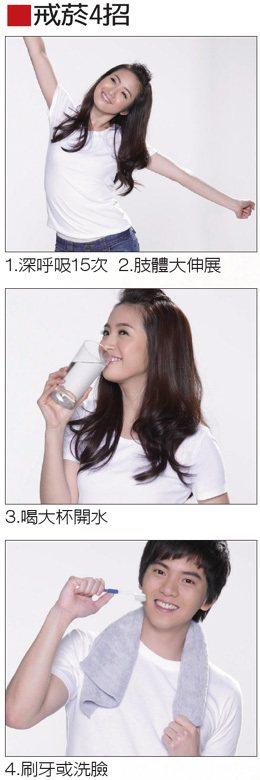 戒菸4招4.刷牙或洗臉 記者陳立凱攝影