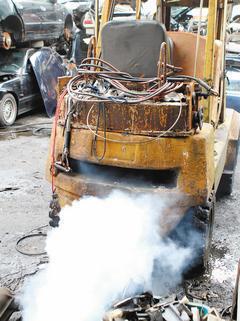 世衛組織將柴油引擎所排放的廢氣列為致癌物。使用柴油引擎的除了公車、遊覽車、大卡車...