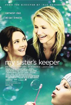 國內侯小妹的故事宛如電影「姊姊的守護者」(The sister's keeper...