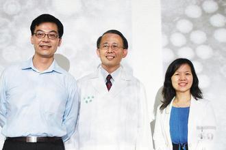 台大、清大研究團隊合作完成類病毒顆粒疫苗,研究技術領先全球。圖左至右為研究團隊成...