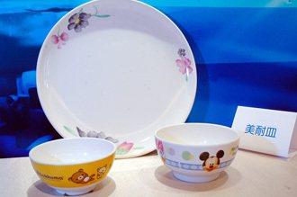 美耐皿餐具。記者林建榮/攝影