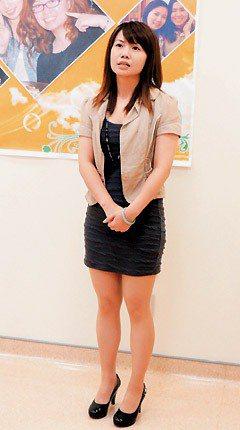 楊千儀8個月成功瘦身13公斤,成為身材窈窕的正妹。 記者田兆緯/攝影