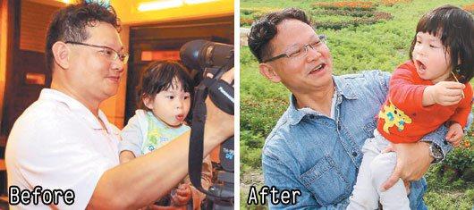 攝影記者金惟中減重兩個月瘦了20公斤,他深深體悟「胖是自己吃來的」,只要飲食清淡...