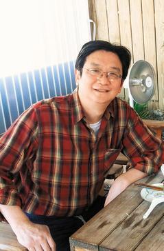 瘦身前忠欣公司總經理王星威只吃自然農法種的稻米,還奉行飯水分離飲食法,半年減...