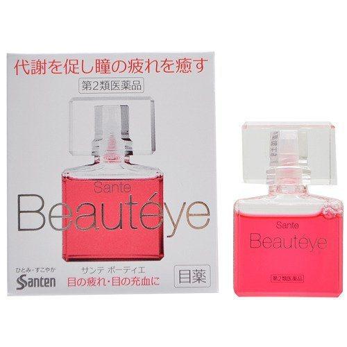 據說是一款有抗老化效果的眼藥水,淡淡粉紅色是B12原色,還有玫瑰香氣唷! 圖...