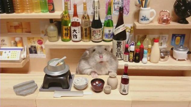 客人上菜囉~要自己到櫃台取餐唷!老闆很忙 圖片來源/twitter
