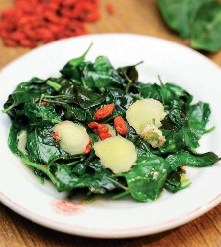 枸杞葉也能吃,口感鮮嫩、風味獨特。 圖片來源╱台灣好食材 Fooding