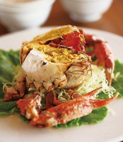 蝦蟹的膽固醇多集中於頭部及卵黃,只要去除這兩部分,膽固醇含量就大幅降低! 圖片來...