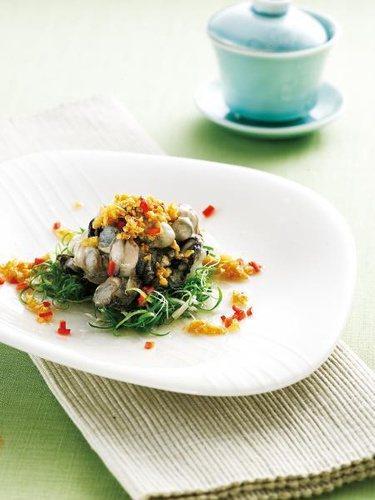 牡蠣含銅量高,可延緩白髮出現。 圖片來源╱台灣好食材 Fooding