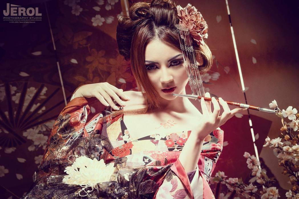 這是花魁,不是藝妓喔。 圖片來源/ plurk