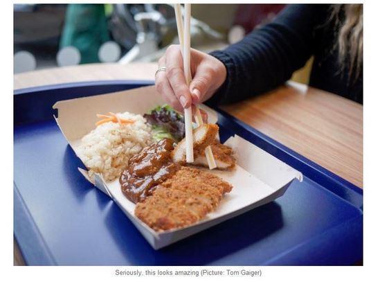中午的精緻簡餐 圖片來源/ Z