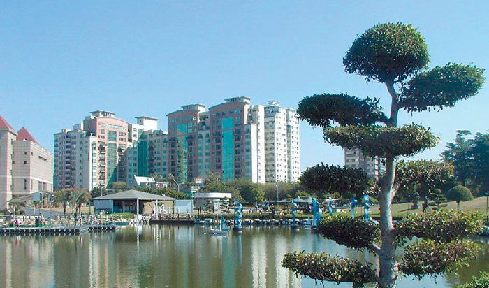 台中市八期重劃區擁有萬坪豐樂公園,大幅提升綠覆率,居住環境也被看好。 報系資料照