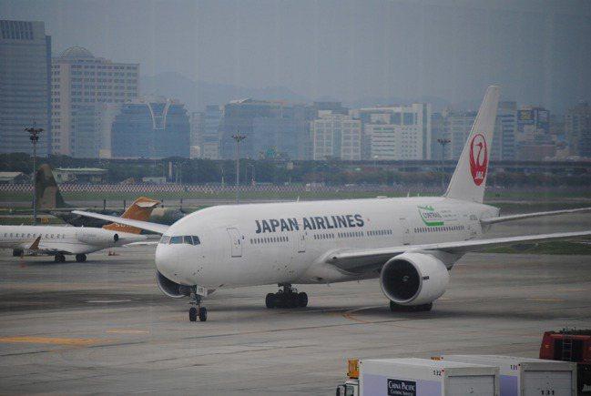 日本航空今天宣布今年擴大招募台籍空服員,錄取人數至少30名。 報系資料照