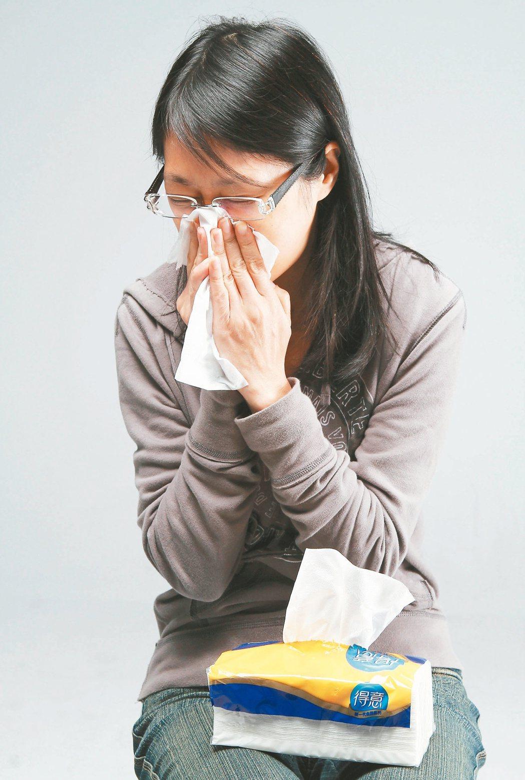 久咳超過兩周以上不癒,且伴隨胸悶,可能是氣喘。 報系資料照片