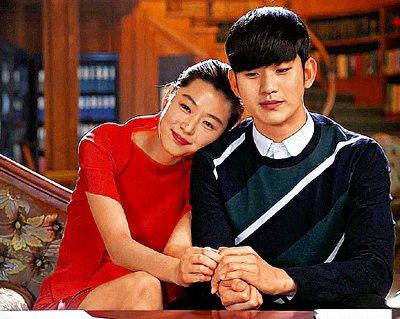 金秀賢和全智賢主演的「來自星星的你」熱度不減。 (圖:東方日報提供)