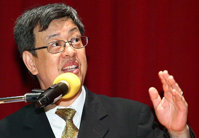 中央研究院副院長陳建仁。記者王騰毅/攝影