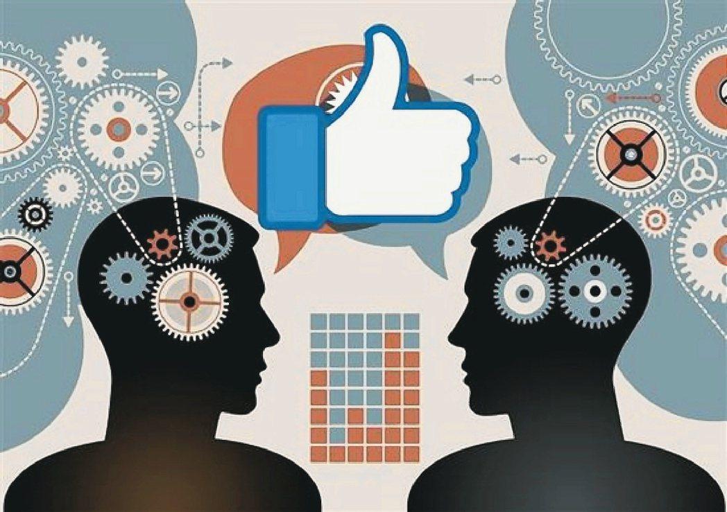 從臉書上按「讚」內容,分析人的個性特質,比親友的了解更深。 取自網路