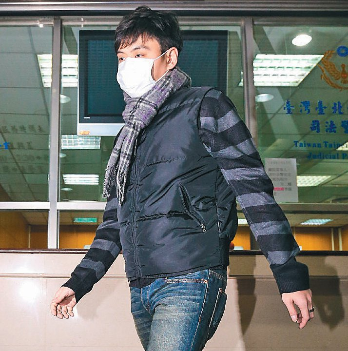 台北夜店殺警案主嫌曾威豪。 聯合報系資料照/記者鄭清元攝影