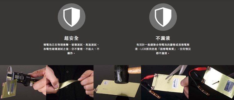 輝能科技彎曲電池