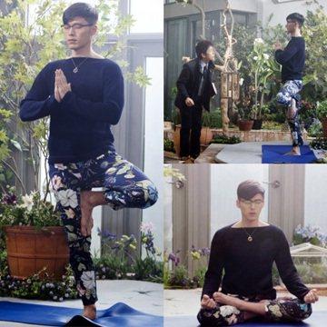 韓國SBS電視臺電視劇《Hyde Jekyll,我》製作方公開了主演玄彬的劇照,吸引了人們的視線。公開的照片中,玄彬穿著花褲子在做瑜伽,出人意料的造型令人忍俊不禁。閉著眼仿佛在冥想著什麽的樣子又讓大...